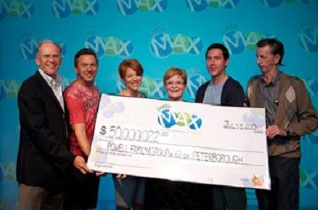 Powell Family Lotto Max Winners