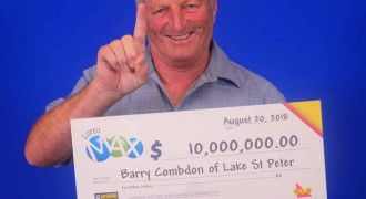 $10 M Lotto Max Jackpot Makes Life Easier