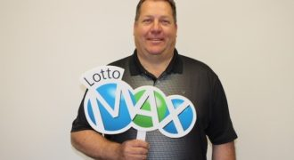 Lotto Max jackpot of $19 million won by two.