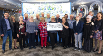 Formule Groupe of 20 from Quebec shared $50 million Lotto Max jackpot prize!